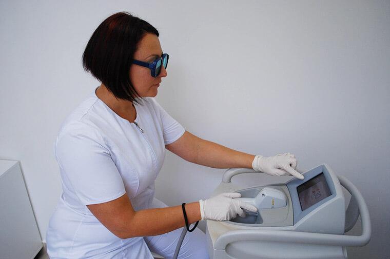 salon depilacji laserowej